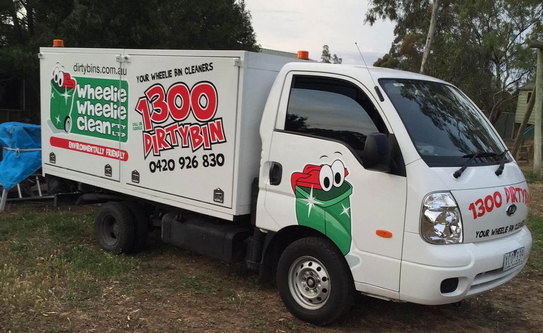 Bin Cleaning Truck
