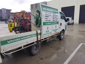 Wheelie Wheelie Clean - High Pressure Cleaning Bendigo & Melbourne